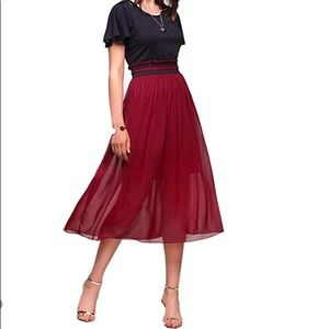 Dresses & Skirts - Casual Short Sleeves Midi Dress